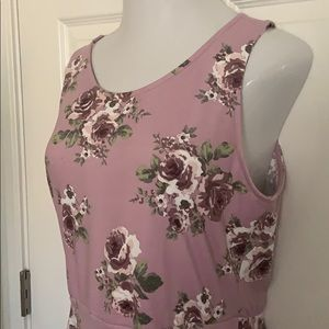 NWT Agnes & Dora Fisher floral dress XL Fit Flare